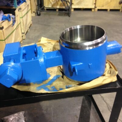 Triple Offset Butterfly Valve with Ameron Coating