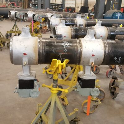 Butt Weld Triple Offset Butterfly Valve in Prefabrication
